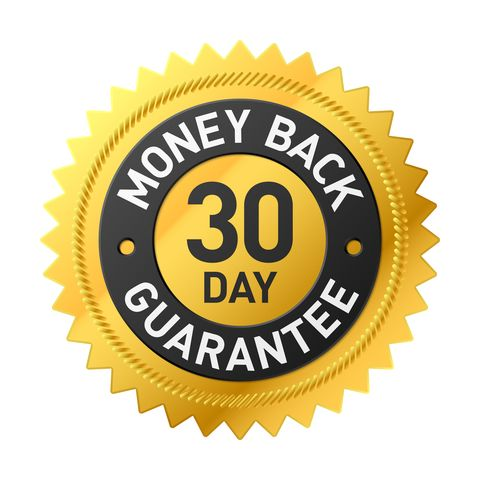 badge depicting the 30-day-money-back-guarantee-from-best-ultrasonic-cleaners.