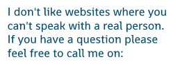image Best Ultrasonic Cleaners mission statement - I don't like websites where you can't speak with a real person. If you have a question please feel free to phone on: 01706  950112